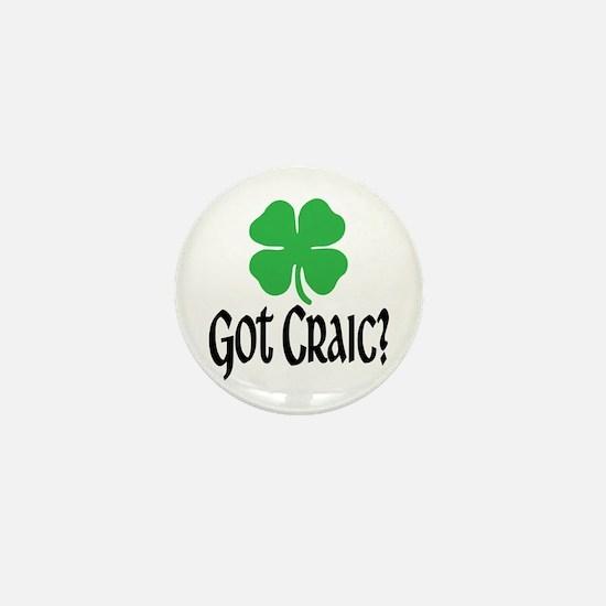 Got Craic? Mini Button