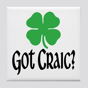 Got Craic? Tile Coaster