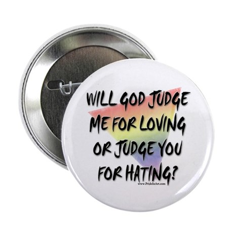 """What Will God Do? 2.25"""" Button (10 pack)"""