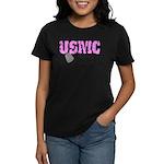 USMC Grandmother of two Women's Dark T-Shirt