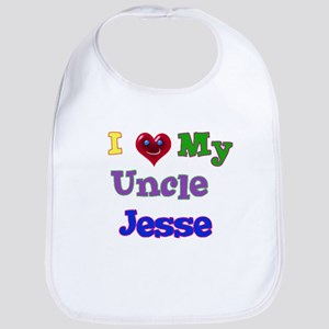 I LOVE MY UNCLE JESSE Bib