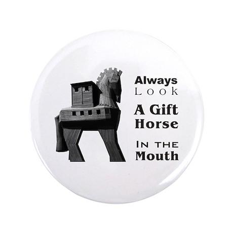 "Trojan Horse 3.5"" Button"