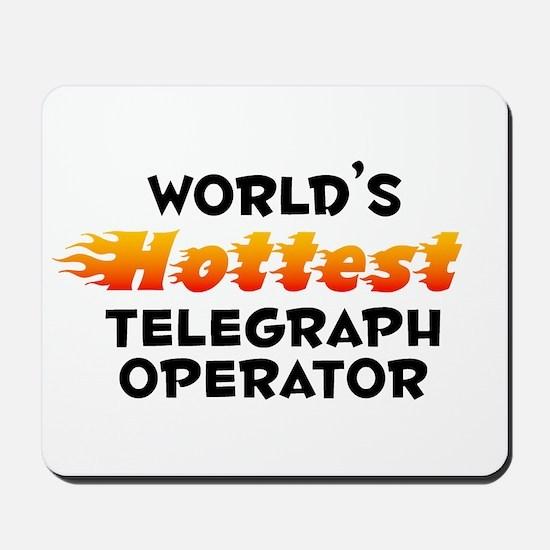 World's Hottest Teleg.. (B) Mousepad
