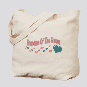 Grandma Of The Groom (hearts) Tote Bag