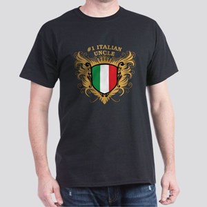 Number One Italian Uncle Dark T-Shirt