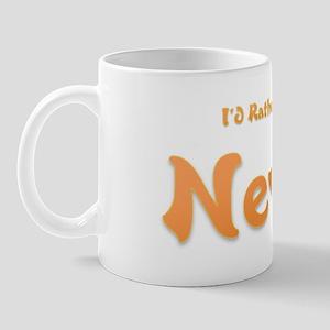 I'd Rather Be...Nevis Mug