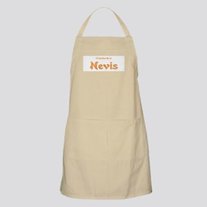 I'd Rather Be...Nevis BBQ Apron
