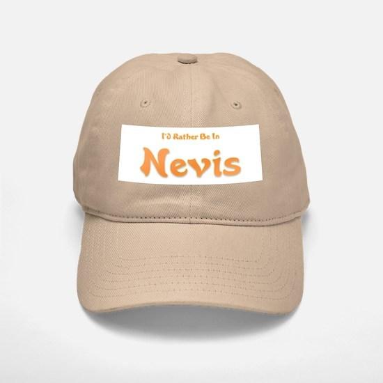I'd Rather Be...Nevis Baseball Baseball Cap