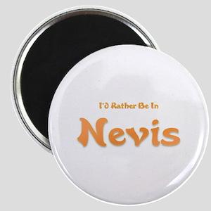 I'd Rather Be...Nevis Magnet