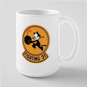 VF 31 / VFA 31 Tomcatters Large Mug