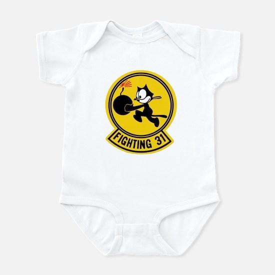 VF 31 / VFA 31 Tomcatters Infant Bodysuit