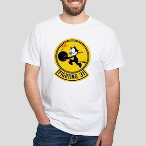 VF 31 / VFA 31 Tomcatters White T-Shirt