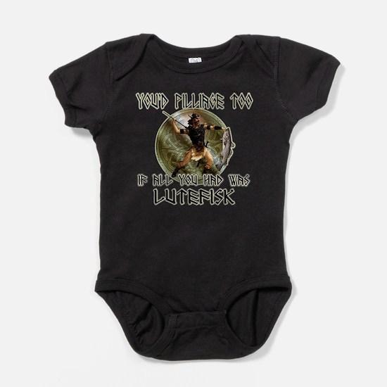 Lutefisk viking humor Infant Bodysuit Body Suit