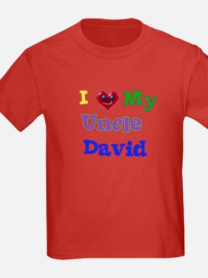 I LOVE MY UNCLE DAVID T