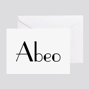 "Abeo! ""I'm Outta Here!"" Greeting Cards (Package of"