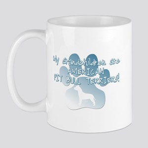 Pit Bull Grandchildren Mug