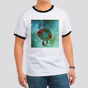 Wonderful dreamcatcher with feathers T-Shirt
