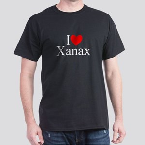 """I Love (Heart) Xanax"" Dark T-Shirt"