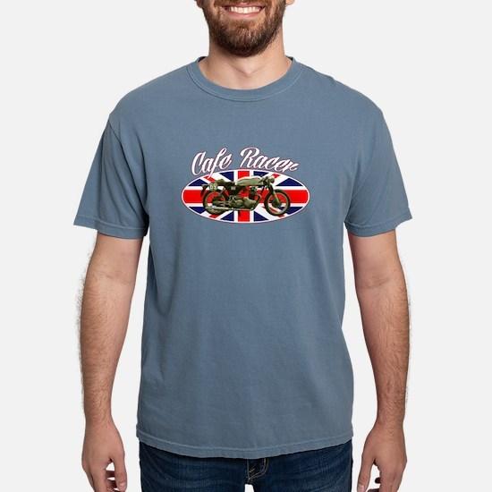 Cafe Racer - British Flag Women's Dark T-Shirt