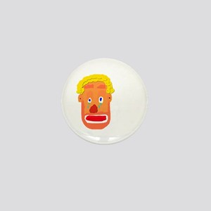 Sad Clown Mini Button