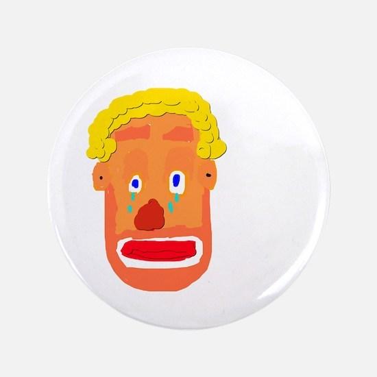"Sad Clown 3.5"" Button"