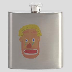 Sad Clown Flask