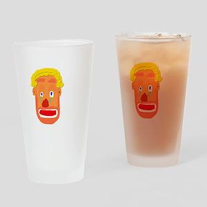 Sad Clown Drinking Glass