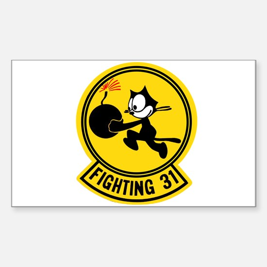 VF 31 / VFA 31 Tomcatters Rectangle Decal