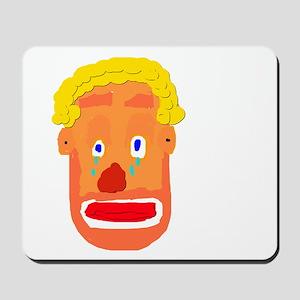 Sad Clown Mousepad