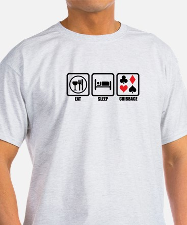 Eat, Sleep, Cribbage T-Shirt