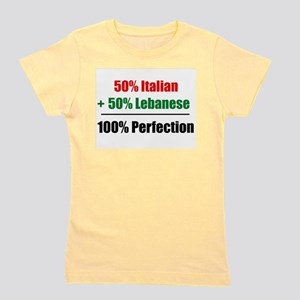 Half Italian, Half Lebanese Ash Grey T-Shirt