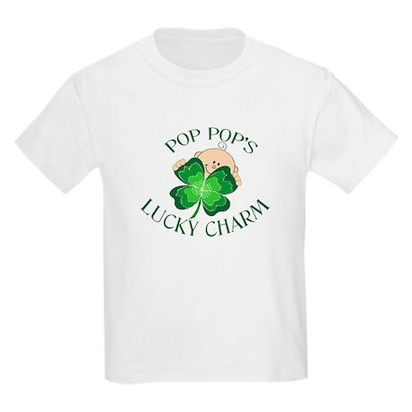 PopPop's Lucky Charm Kids Light T-Shirt