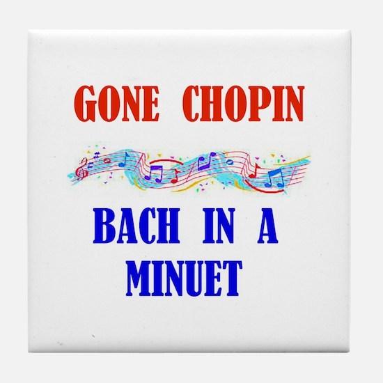 MUSIC GREATS Tile Coaster