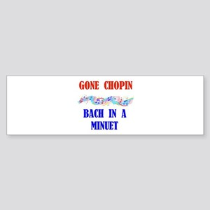 MUSIC GREATS Bumper Sticker