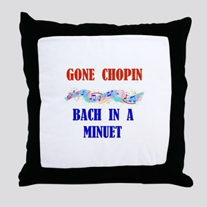 MUSIC GREATS Throw Pillow