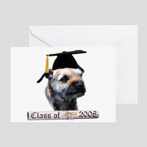 Border Terrier Grad 08 Greeting Card