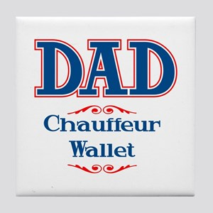 DAD Chauffeur Wallet Tile Coaster