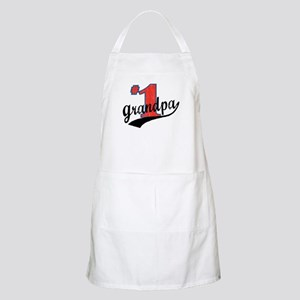 #1 Grandpa BBQ Apron
