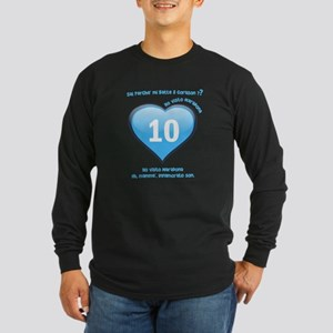 Ho visto Maradona Long Sleeve Dark T-Shirt