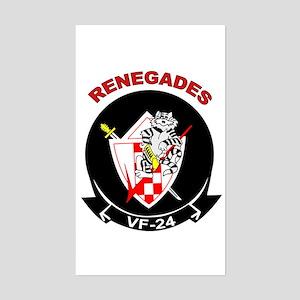 VF 24 Renegades Rectangle Sticker