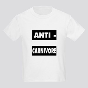Anti-Carnivores Kids T-Shirt