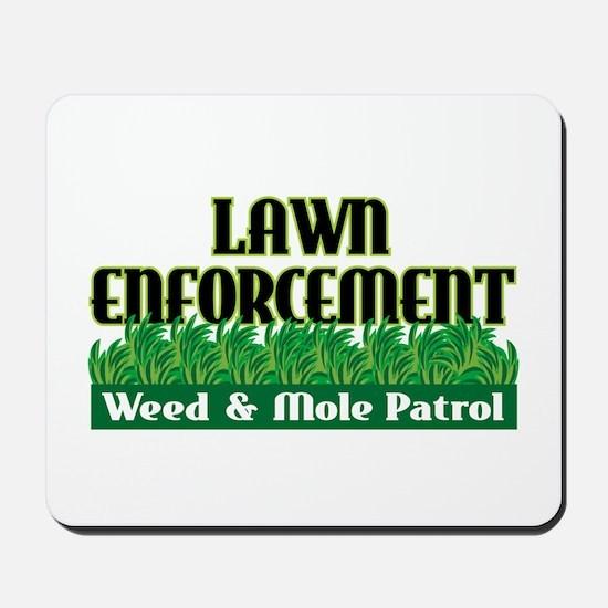 Lawn Enforcement Mousepad