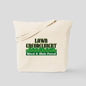 Lawn Enforcement Tote Bag