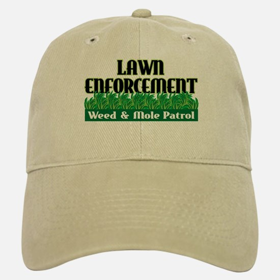 Lawn Enforcement Baseball Baseball Cap