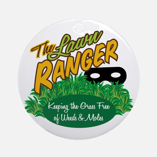 Lawn Ranger Ornament (Round)