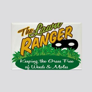 Lawn Ranger Rectangle Magnet
