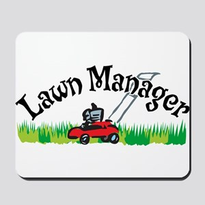 Lawn Manager Mousepad