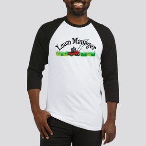 Lawn Manager Baseball Jersey
