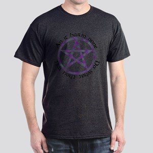 Wiccan Rede Pentacle Dark T-Shirt