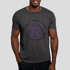 Wiccan Rede Pentacle Dark T-Shirt